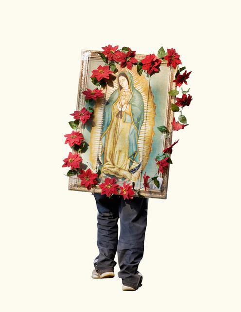 , 'The Road to Tepeyac #49  (Nochebuena - Poinsettia - Flower frame),' 2010, The Ravestijn Gallery