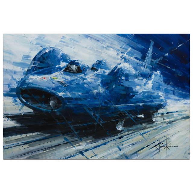 John Ketchell, 'Blue Lightning', 2017, Whyte Fine Art