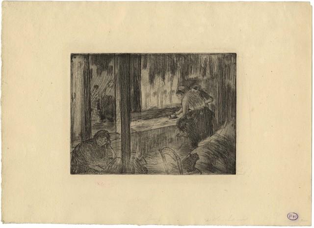 , 'Les Blanchisseuses – The Laundresses,' 1879-1880, C. G. Boerner