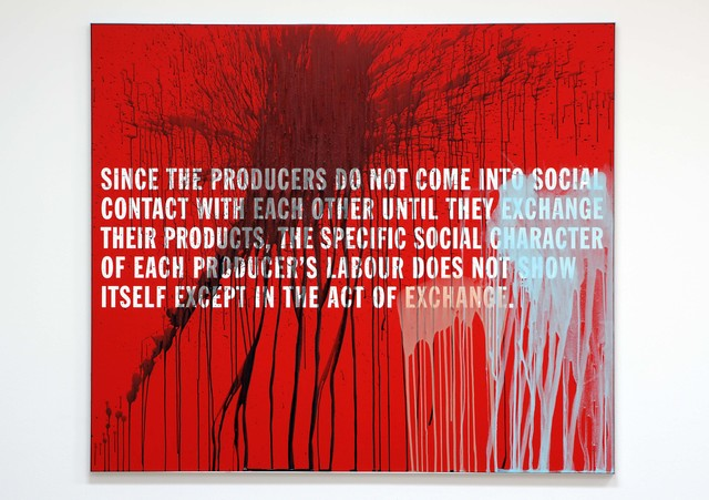 , '8. MARX / CAPITAL ( SINCE THE PRODUCERS ...),' 2007, Georg Kargl Fine Arts