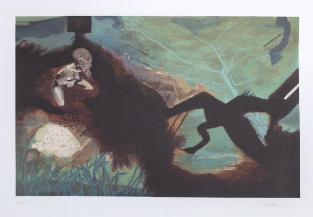 Miguel Angel Rojas, 'Sin Titulo', 1992, Print, Screenprint, RoGallery
