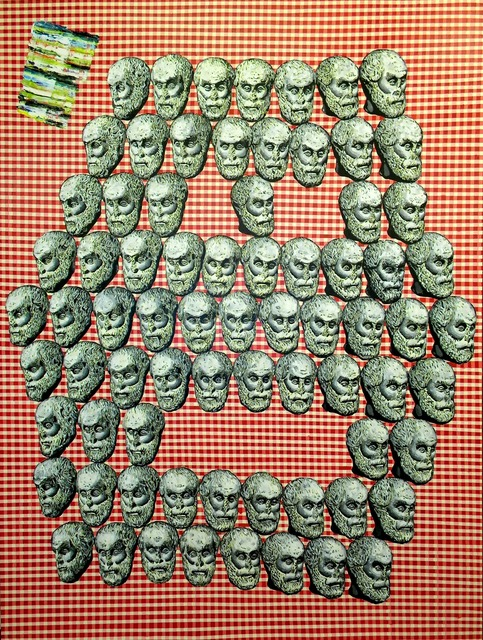 , 'Head-Face #4,' 2012, Santa Monica Museum of Art