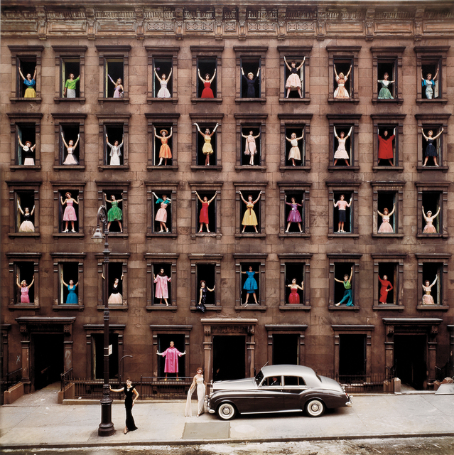 , 'Girls in the Windows,' 1960, Holden Luntz Gallery