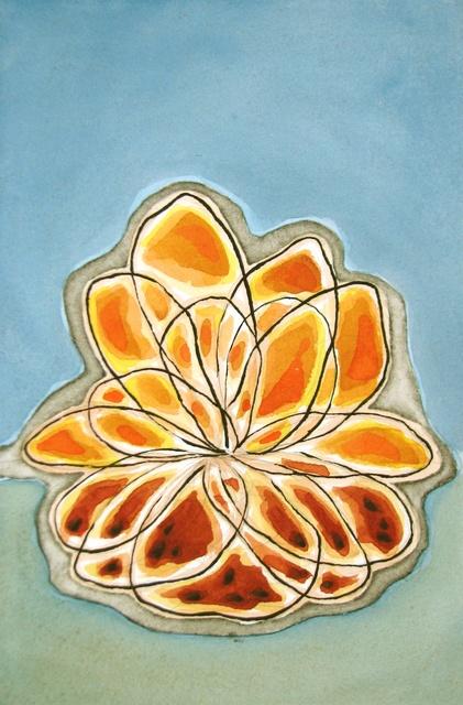 , 'Orange Bloom,' 2010, InLiquid