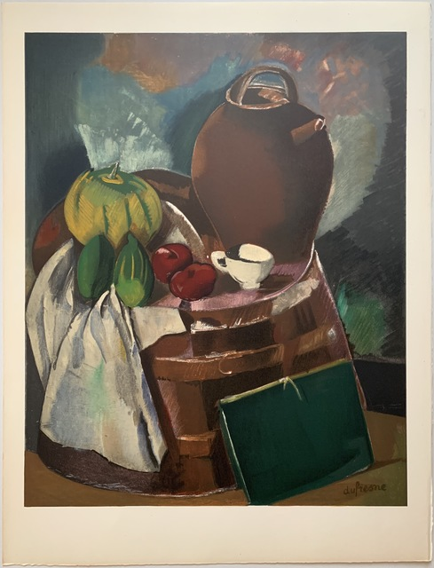 Charles Dufresne, 'Nature Morte', 1932-33 / Printed 1971, Print, Lithographic poster on Arches vellum, Puccio Fine Art