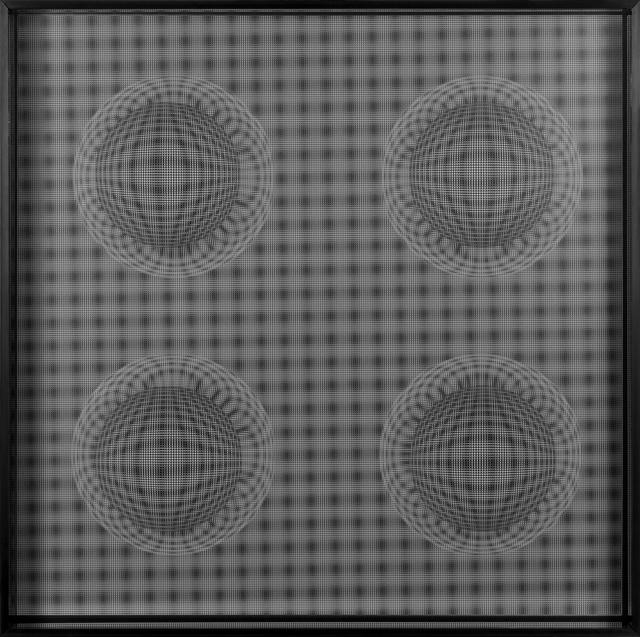 , '4 Esferas Espaciales (Negro),' 2015, Art Nouveau Gallery