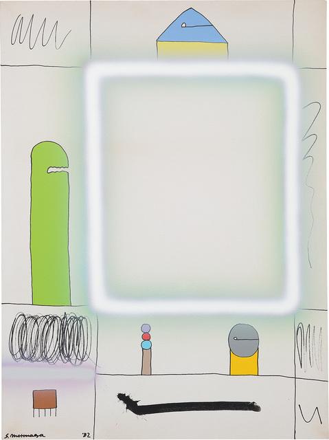 Sadamasa Motonaga, 'From Square of White Lines', 1982, Phillips