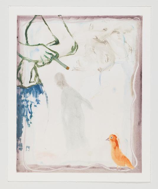 Sanya Kantarovsky, 'Pepel', 2018, Print, Monotype, Taka Ishii Gallery
