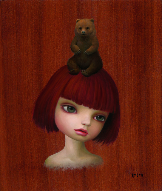 , 'Bear Girl ,' 2008, Sloan Fine Art