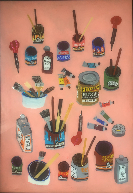 , 'Paint Cans And Brushes,' 2016, V1 Gallery