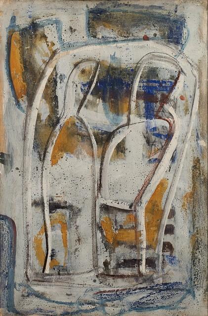 Mario Sironi, 'Composizione con due figure', mid 50s, Finarte