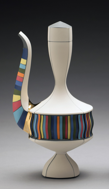 , 'White Ewer,' 2016, Ferrin Contemporary