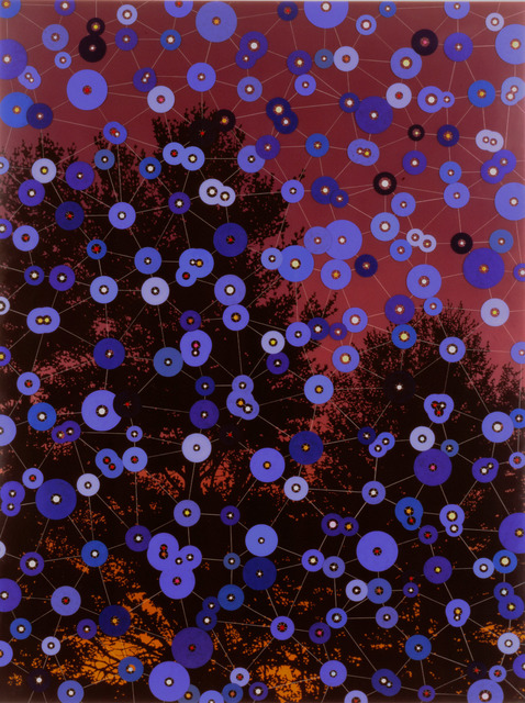 , 'Blue Circles,' 1995, James Cohan