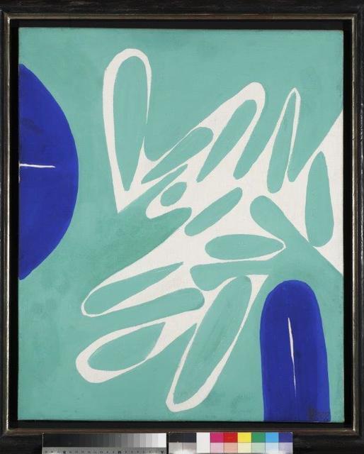 , 'Hellgrün - Ultramarin,' 1967, Aurel Scheibler