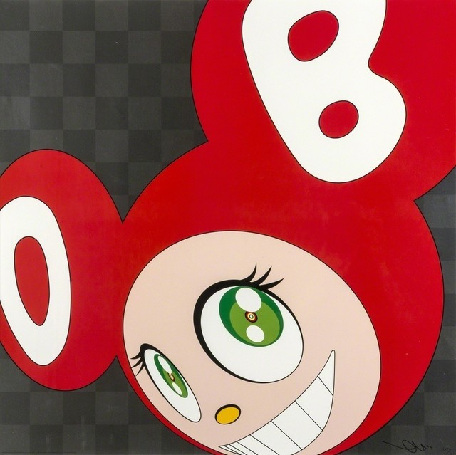 Takashi Murakami, 'And Then, And Then And Then And Then And Then (Red)', 2011, Lougher Contemporary