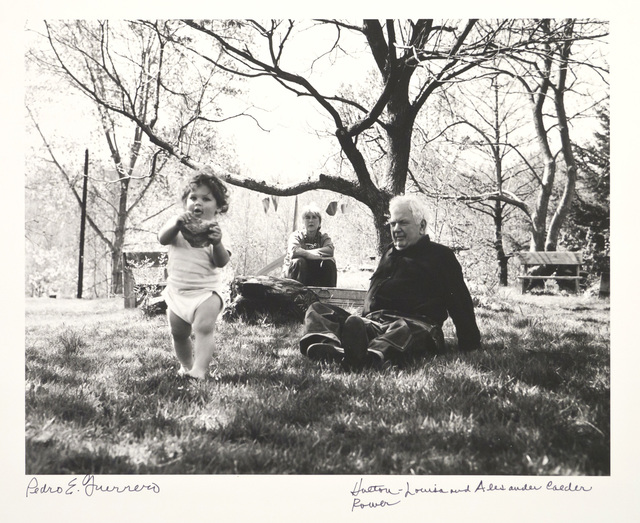 , 'Holton Rower, Louisa and Sandy Calder, Rocksbury, CT,' 1964, Edward Cella Art and Architecture