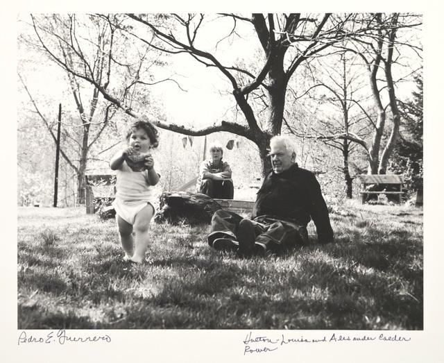 Pedro E. Guerrero, 'Holton Rower, Louisa and Sandy Calder, Rocksbury, CT', 1964, Edward Cella Art and Architecture