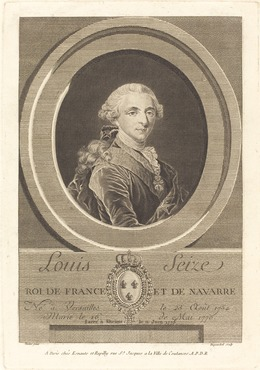 Charles-Eugene Duponchel, 'Louis XVI, King of France', National Gallery of Art, Washington, D.C.