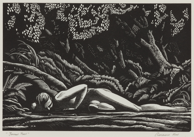 , 'Forest Pool ,' 1927, Childs Gallery