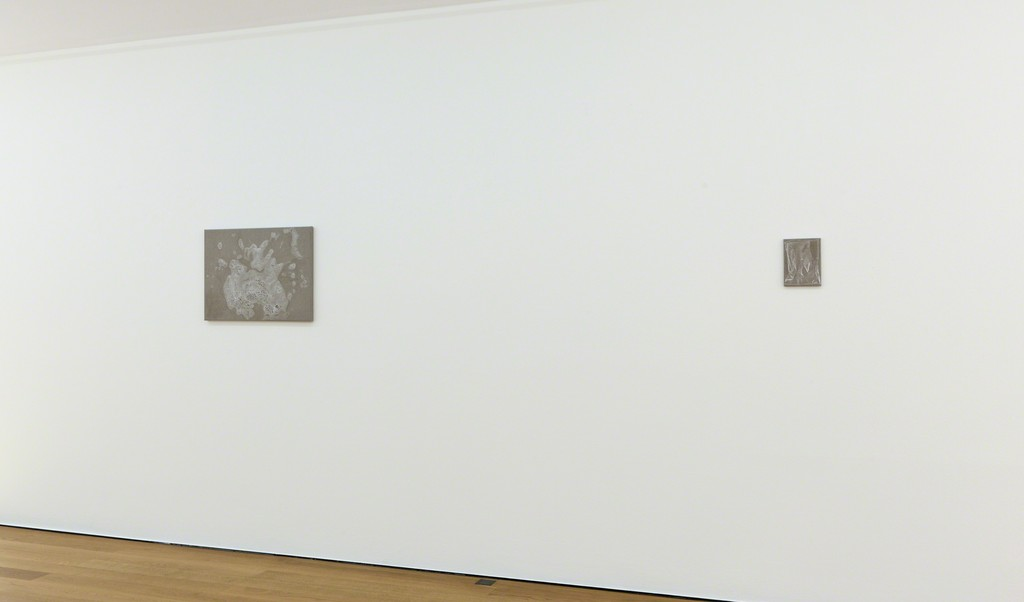 Installation view Helene Appel at Galerie Rüdiger Schöttle, 2017.