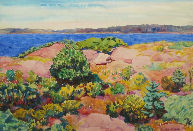 Carl Gordon Cutler, 'Seascape', 19th -20th Century, Vose Galleries