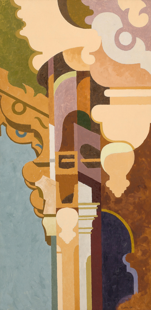 , 'Porch Column #2,' 1960, Caldwell Gallery Hudson