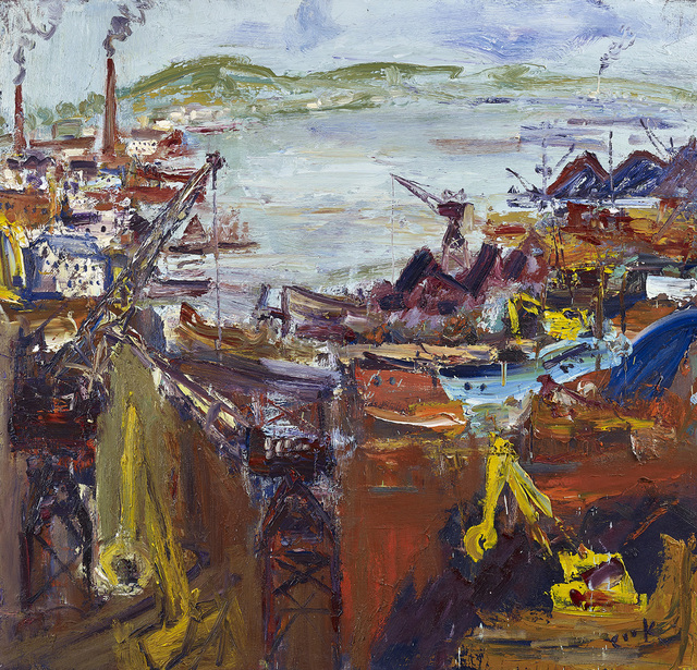 , 'View Over to Lochgelly,' , The Scottish Gallery