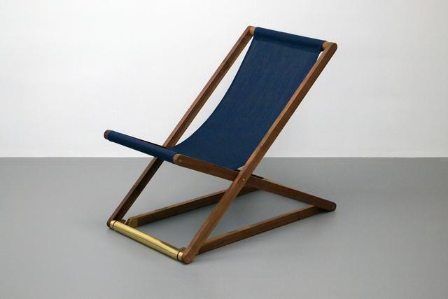 , 'Outdoor Folding Beach Chair,' 2016, Tile Blush