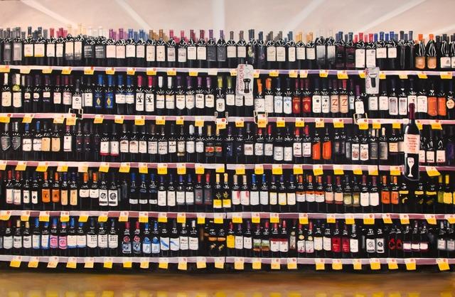 , 'The Wine Aisle,' , Ro2 Art