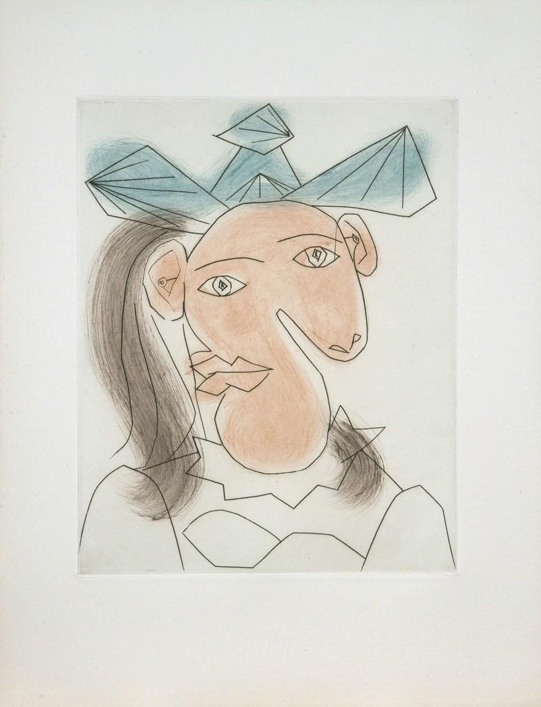Head of Woman No. 7 Portrait of Dora Maar