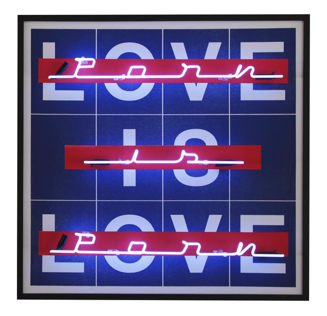 Abidiel Vicente, 'Love is Love | Porn is Porn', 2019, Galeria Houssein Jarouche