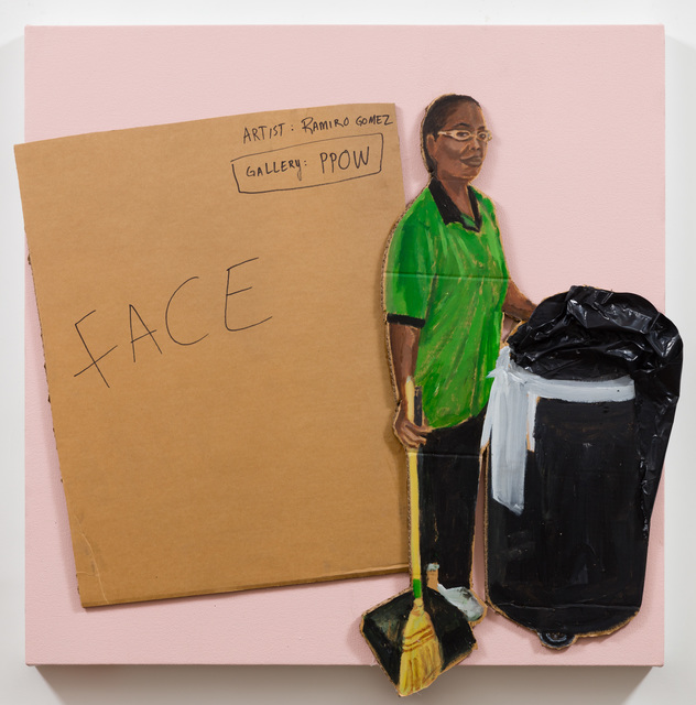 , 'Face/Janitor,' 2018, P.P.O.W