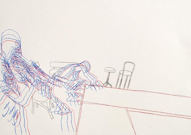 , 'Indigo Power,' 2012, SARIEV Contemporary