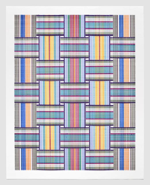 Carly Glovinski, 'Leisure Weave 8', 2017, Morgan Lehman Gallery