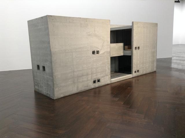 Tadao Ando, 'Row House in Sumiyoshi, 1:10 Maquette', Architecture, Concrete, stone, wood, Akio Nagasawa Gallery