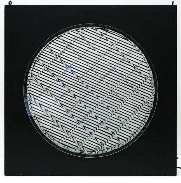 , 'Graphisme kaleidoscopique,' 1965, El Museo del Barrio