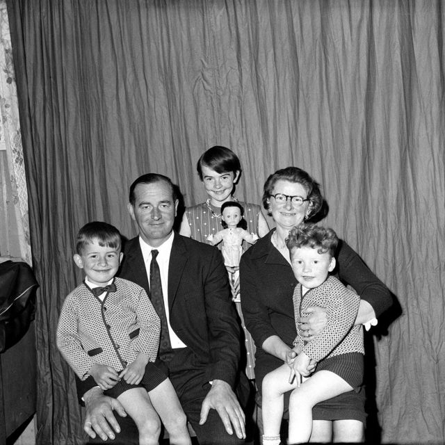 , 'Untitled (family portrait with doll),' 1950-1970, Jackson Fine Art