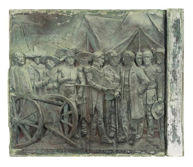 , 'The Surrender of Santa Anna,' 2012, Valley House Gallery & Sculpture Garden