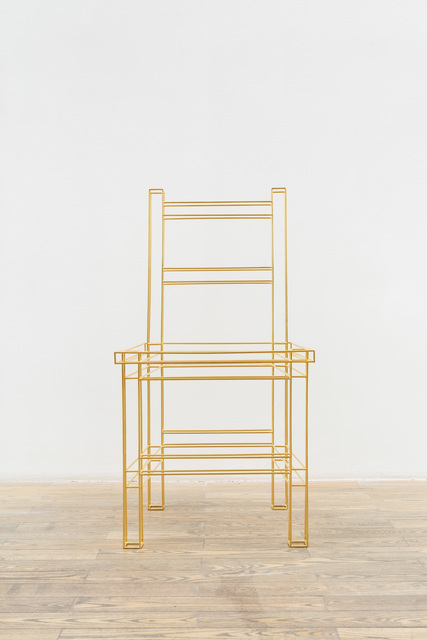, 'Chair_gold,' 2018, HDM Gallery