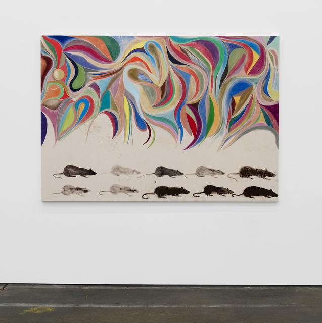 , '(Rats) Painting #1,' 2018, Altman Siegel