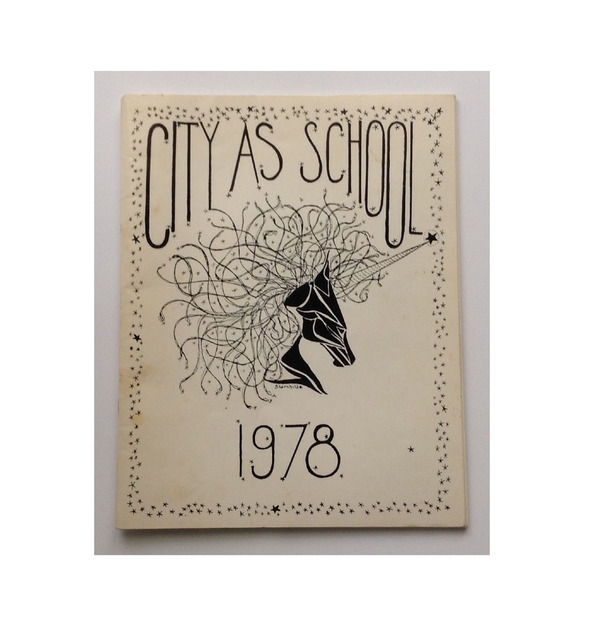 , 'High School Yearbook,' 1978, VINCE fine arts/ephemera