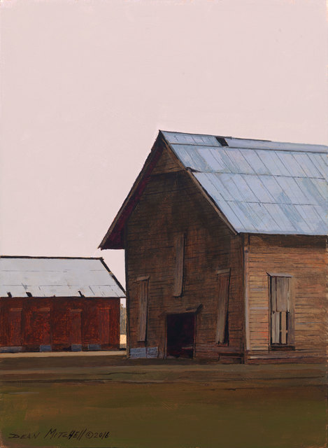 , 'Tobacco Barns,' 2016, Cutter & Cutter Fine Art