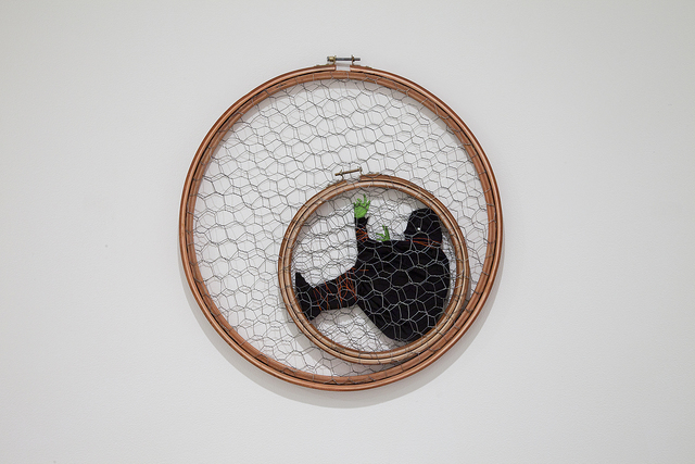 , 'Three Cages,' 2014, Cade Tompkins Projects