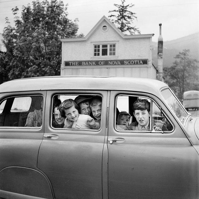 Vivian Maier, 'w03271-10 , Kids in Car', 2015, KP Projects