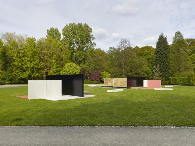 Andrea Zittel, 'Flat Field Works (Middelheim Variant #2)', 2015, Middelheim Museum