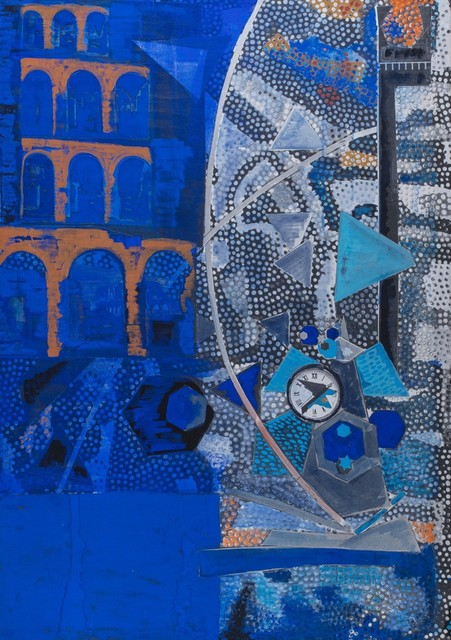 Laura Grisi, 'Blue', Finarte