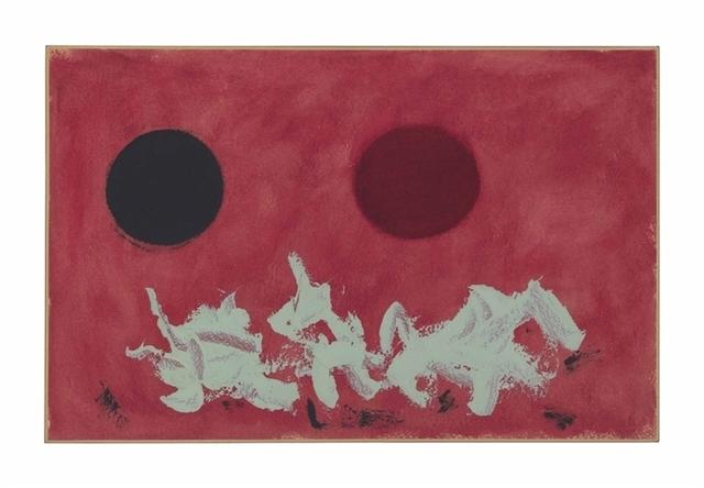 Adolph Gottlieb, 'Red Ground', Christie's