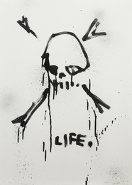 Gregory Siff, 'Life,' 2015, Julien's Street Art Now (February 2017)