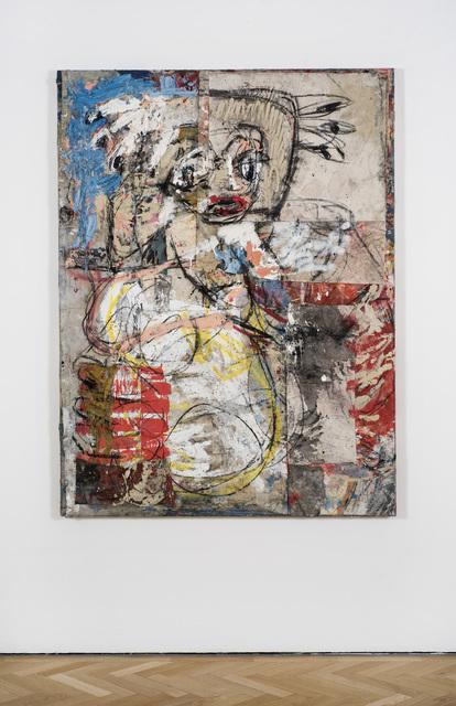, 'Belfie (red foot),' 2017, Vigo Gallery