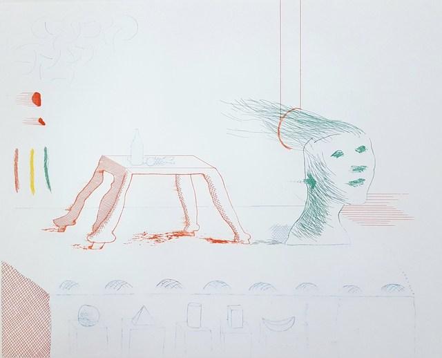 David Hockney, 'A Moving Still Life', 1977, Graves International Art